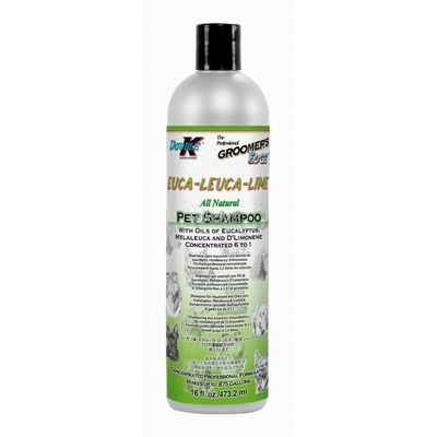 Hundeshampoo Double K Euca Leuca Lime, antiparisitär, 473 ml