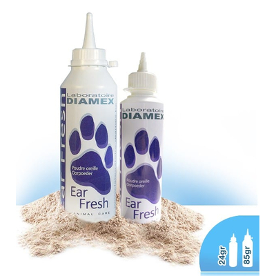 Diamex Ear Fresh, Ohrenpuder, 24 gr.